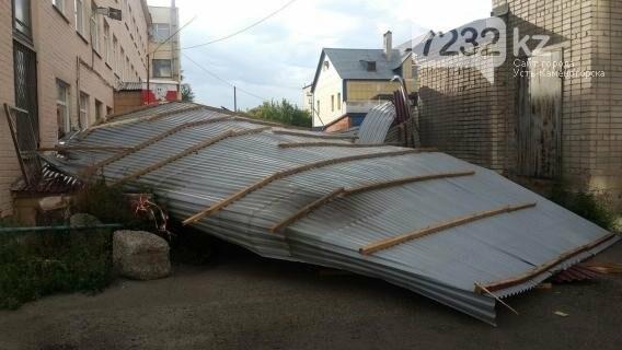 В Усть-Каменогорске бушевал ураган (ФОТО, ВИДЕО), фото-7
