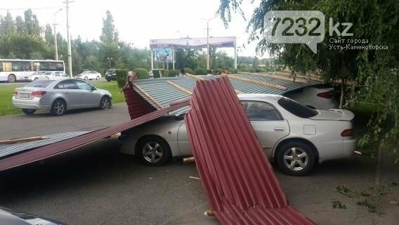 В Усть-Каменогорске бушевал ураган (ФОТО, ВИДЕО), фото-9