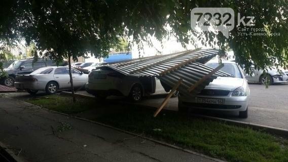 В Усть-Каменогорске бушевал ураган (ФОТО, ВИДЕО), фото-10