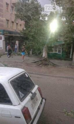 В Усть-Каменогорске бушевал ураган (ФОТО, ВИДЕО), фото-1